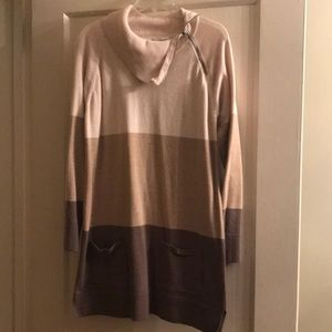 Long Sleeve Brown Tunic